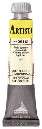 Масляная краска Maimeri Artisti M0102091 хром желто-оранжевый 20 мл
