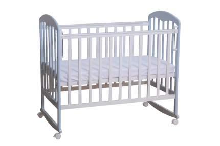 Кровать-качалка детская Фея 323 Белая-Лазурь