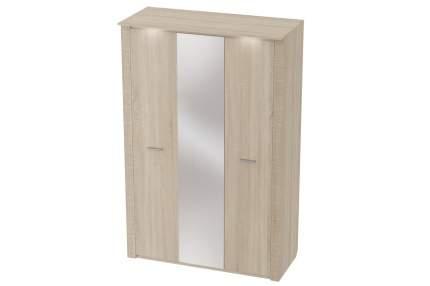 Платяной шкаф Hoff Элана 80295045 143х218,5х64,5, дуб сонома светлый матовый