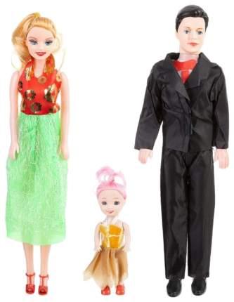 Набор из 3 кукол Семья
