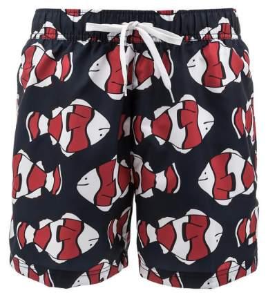 Плавки мужские Tommy Hilfiger UM0UM01155 629 fish prt tango red, синий, 48
