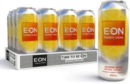 Энергетический напиток  E-ON Almond Rush 12 шт по 450 мл