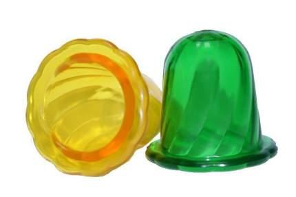 Массажные банки Торг Лайнс Тюльпан для чувствительной кожи 2 шт. разноцветные