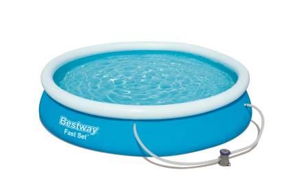 Bestway, Бассейн с надувным бортом 366х76 см, 5377 л, с фильтр-насос 1249л/ч., 57274 BW