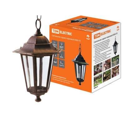 Светильник 6060-15 садово-парковый шестигранник, 60Вт, подвес, бронза TDM SQ0330-0015