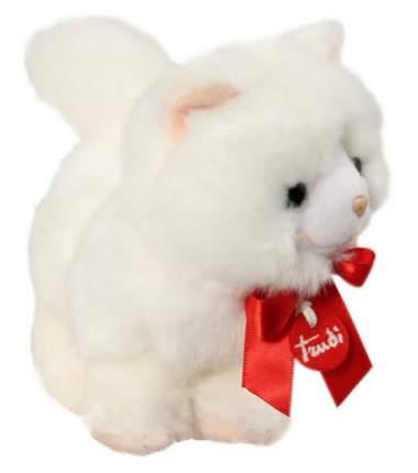 Мягкая игрушка Trudi Белая кошечка (делюкс), 15 см