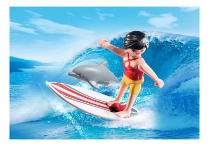 Экстра-набор: сёрфингист с доской