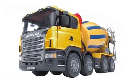 Бетономешалка Bruder Scania жёлто-синий