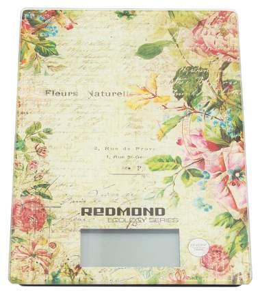 Весы кухонные Redmond RS-736 (цветы)