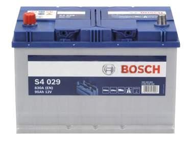 Аккумулятор автомобильный BOSCH S4 Silver 0 092 S40 290 95 Ач