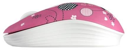 Беспроводная мышь Crown CMM-928W Pink/Black