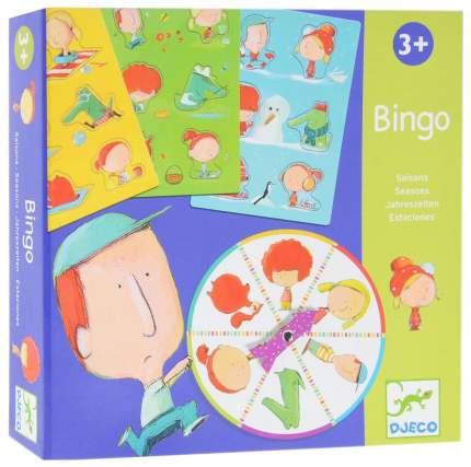 Семейная настольная игра Djeco Бинго Времена года 08114