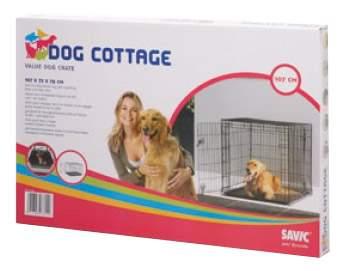 Клетка для собак Savic DOG COTTAGE 77x84x118 3315 0011