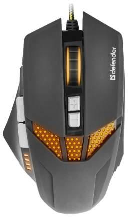 Проводная мышка Defender Warhead GM-1780 Black (52780)