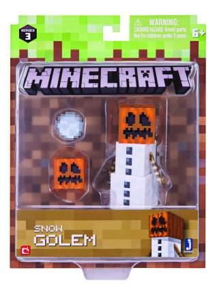 Игровой набор Jazwares Minecraft Снежный Голем с аксессуарами