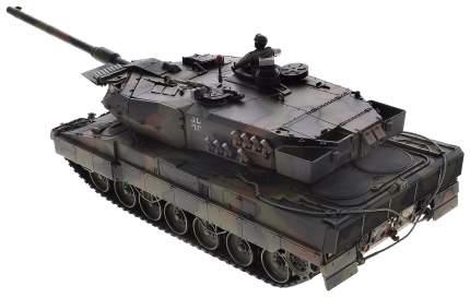 Радиоуправляемый танк VSP German Leopard2 A6 звук свет стреляет 1:24