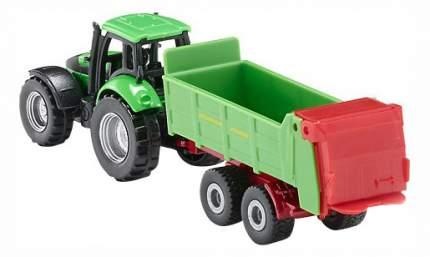 Коллекционная модель Siku Трактор с прицепом для удобрений