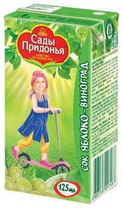 Сок Сады Придонья Яблоко и виноград с 6 мес 125 мл
