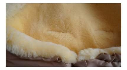 Конверт меховой Heitmann Premium Lambskin Cosy Toes мокка
