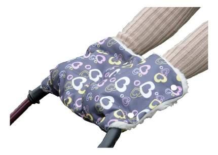 Муфта на коляску Сердечки Чудо-Чадо МКМ09-000