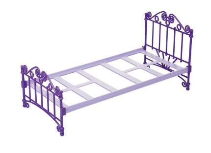 Кроватка с постельным бельем