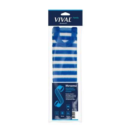 Мочалка для тела Vival Массажная с нейлоновыми ручками ММ-4412-П
