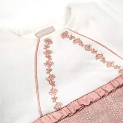 Комбинезон с закрытыми ножками RBC МЛ 482724 розовый р.62