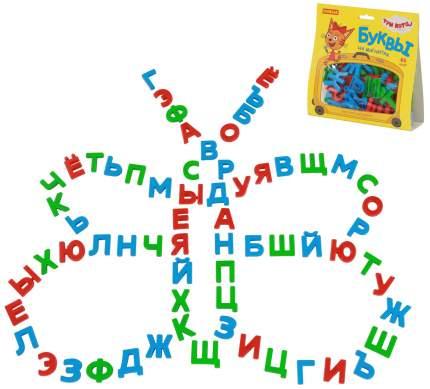 Набор Полесье Три кота буквы на магнитах 66 штук