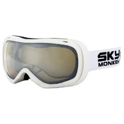 Горнолыжная маска Sky Monkey SR23 YLM 2019 white