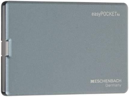 Лупа Eschenbach easyPOCKET выдвижная с подсветкой 50 х 45 мм 4.0х