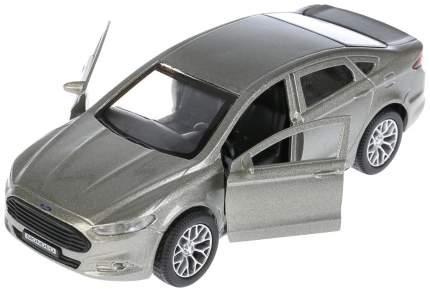 Машина металлическая инерционная Ford Mondeo, цвет серый, 12 см Технопарк