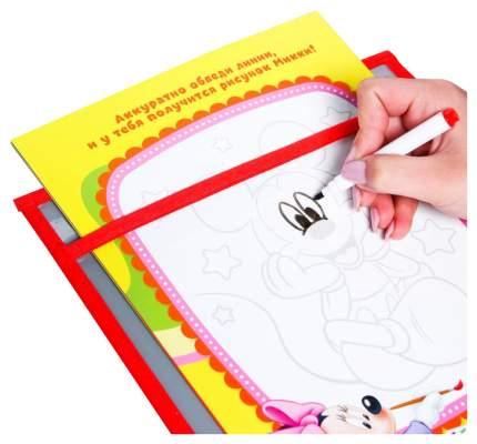 Многоразовая папка с карточками и маркером «Пиши-стирай», Микки Маус и его друзья Disney
