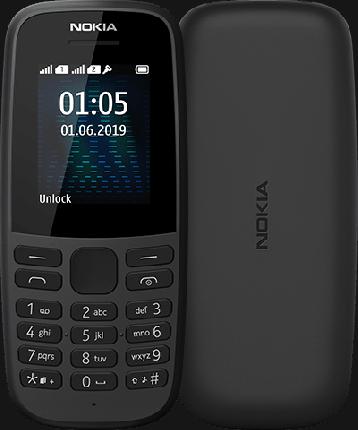 Мобильный телефон Nokia 105SS ТА-1203 Bl