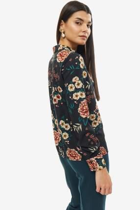 Рубашка женская D&M by 1001DRESS DM01674FL черная XS