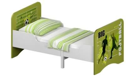 Кровать детская раздвижная Polini kids Fun 3200 Футбол, зеленый