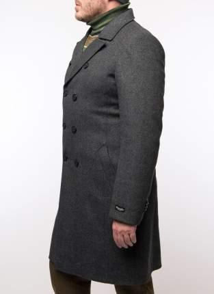 Пальто мужское Misteks 1929 (Тв-08ж) серое 44 RU