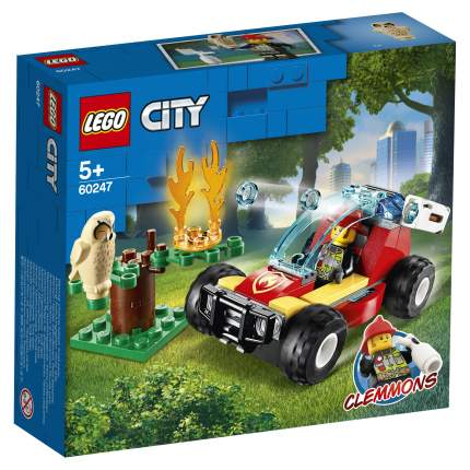 Конструктор LEGO City Fire 60247 Лесные пожарные