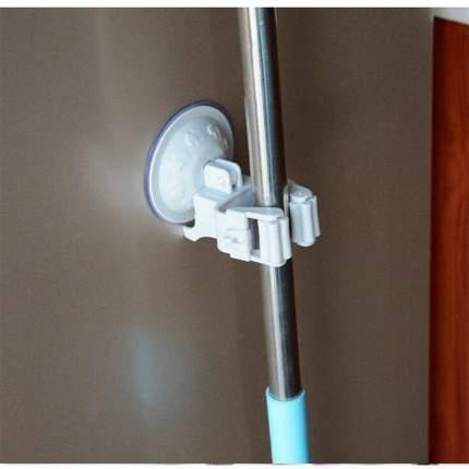Настенный держатель для швабры Homsu серый