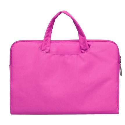 "Сумка для ноутбука 15,4"" Wiwu Campus Slim Case Gearmax розовая"