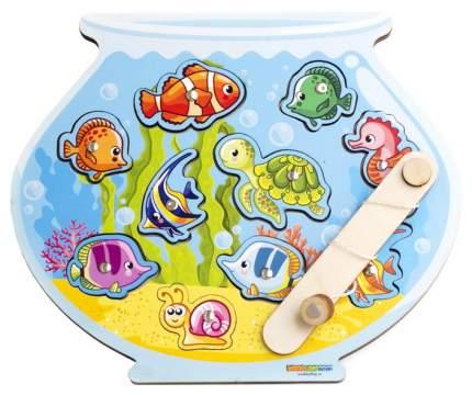 Игровой набор WoodLand 062201 Магнитная рыбалка Аквариум