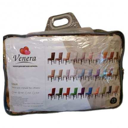 """Чехлы на стулья без оборки Venera """"Chair"""", цвет: фисташка, комплект 6 шт"""
