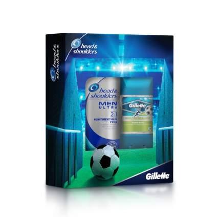 Подарочный набор GILLETTE дезодорант Power Rush 70мл+шампунь 2в1 200 мл