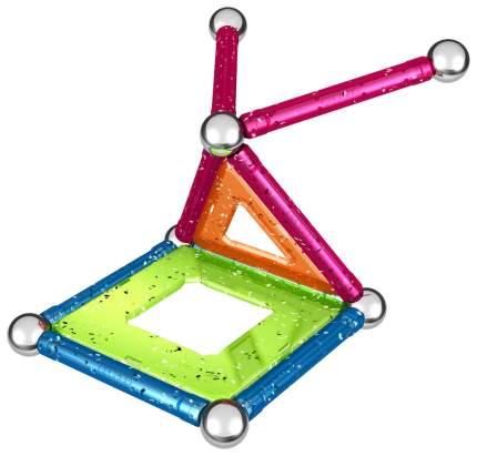 Конструктор магнитный Geomag Glitter 22 элемента 530