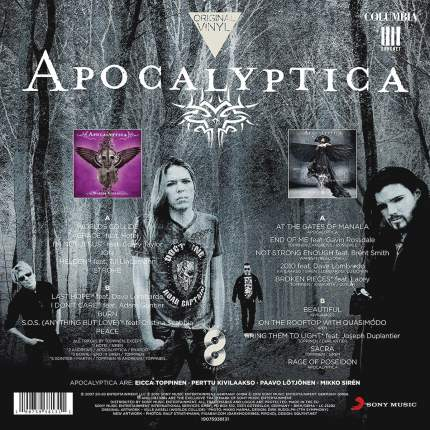 Apocalyptica Original Vinyl Classics: Worlds Collide + 7th Symphony (2LP)