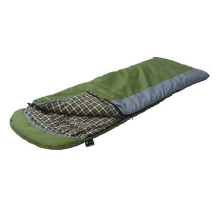 Спальный мешок Prival Привал зеленый, правый