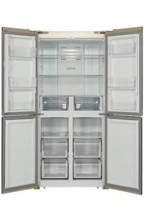 Холодильник Hiberg RFQ-500DX NFGY Beige