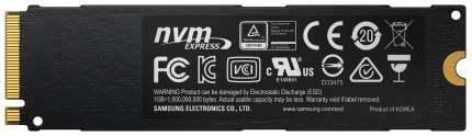 Внутренний SSD накопитель Samsung 960 EVO 1TB (MZ-V6E1T0BW)