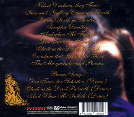 Theatre Of Tragedy  Velvet Darkness They Fear (RU) (CD)