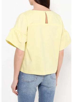 Блуза женская Baon желтая M