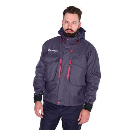 Куртка для рыбалки Nova Tour Fisherman Риф Pro, графит, XS INT, 170 см